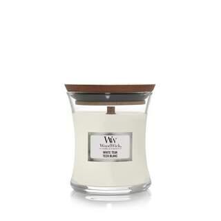 Mini jarre teck blanc