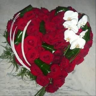 Coeur de rose - adoration