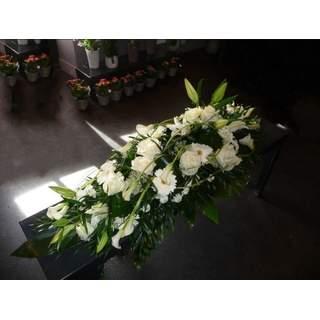 Dessus de cercueil blanc - Pureté